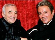 """Alain Delon, """"fracassé"""", prend la mort de Charles Aznavour """"en pleine gueule"""""""