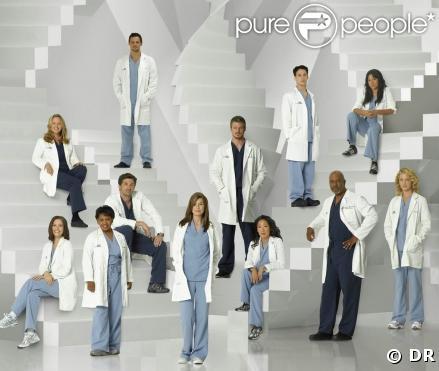 L'équipe de Grey's Anatomy, saison 5