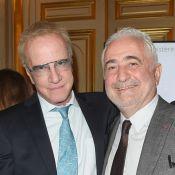 "Christophe Lambert et Didier Deschamps ""rayonnent"" au Quai d'Orsay"