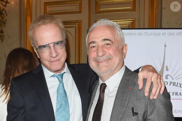Exclusif - Christophe Lambert et Guy Savoy - Remise du Grand Prix du rayonnement français au Quai d'Orsay à Paris. Le 2 octobre 2018 © Coadic Guirec / Bestimage