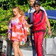 JAY-Z et sa femme Beyoncé sont allés découvrir en bateau le Lac de Côme en Italie. Le 7 juillet 2018.