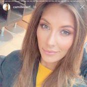 """Camille Cerf change de style : L'ex-Miss France devient """"brunette"""" !"""