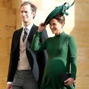 Pippa Middleton : Très enceinte et si chic au mariage de la princesse Eugenie