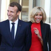Brigitte et Emmanuel Macron : Complices, ils participent à une danse folklorique