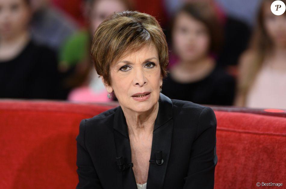 """Catherine Laborde - Enregistrement de l'émission """"Vivement Dimanche"""" à Paris le 10 février 2016. © Coadic Guirec/Bestimage"""