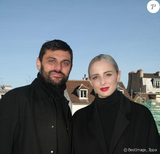 Exclusif - Madame Monsieur ( Émilie Satt et Jean-Karl Lucas ) - La fête des Vendanges de Montmartre 2018 le 13 octobre 2018 à Paris © Jlppa / Bestimage