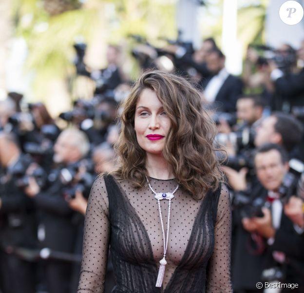 Laetitia Casta à Cannes, en 2017.
