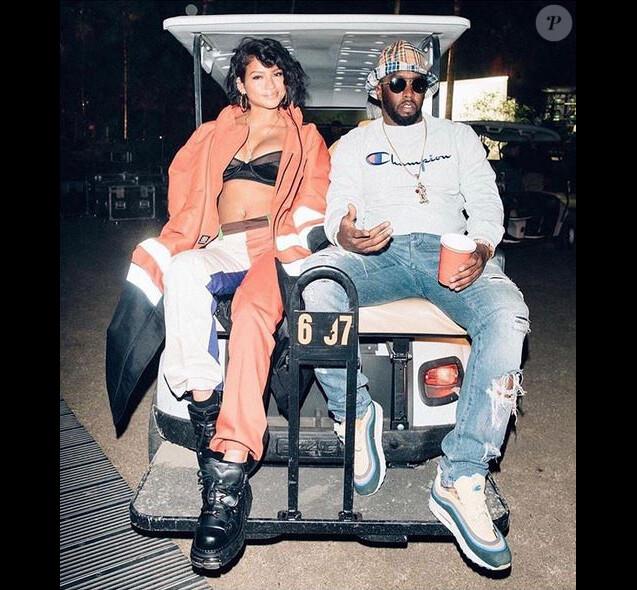 Cassie et Diddy. Avril 2018.