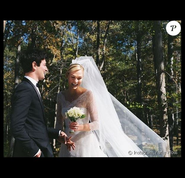 Joshua Kushner et Karlie Kloss se sont mariés à New York, ce jeudi 18 octobre 2018.