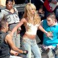 Britney Spears à Hollywood. Février 2004.