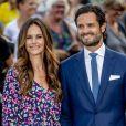 Princesse Sofia, prince Carl Philip - La princesse Victoria de Suède fête son 41ème anniversaire à Borgholm en Suède le 14 juillet 2018