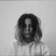 Annily Chatelain, fille d'Alizée et de Jérémy Chatelain, sur un cliché dévoilé début janvier 2018.