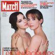 Sophie Marceau et Monica Bellucci en couverture de Paris Match