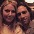 Brad Falchuk et Gywneth Paltrow sur une photo publiée sur Instagram en mars 2017
