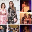La reine Silvia et la princesse Madeleine de Suède à New York début octobre 2018 pour le symposium de Childhood USA, photomontage publié sur Instagram. Surprise, la princesse Adrienne, 7 mois, était avec elles !