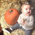La princesse Madeleine de Suède a publié le 26 octobre 2014 cette photo de sa fille la princesse Leonore, prête pour Halloween !
