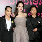 Angelina Jolie : A Séoul avec Maddox et Pax pour visiter des universités