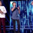 """Camila & Zion Luna, Stella et Lilian dans """"The Voice Kids 5"""" sur TF1, le 16 novembre 2018."""