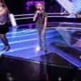 """Wilson, Maïssa et Hermonia dans """"The Voice Kids 5"""" sur TF1 le 16 novembre 2018."""