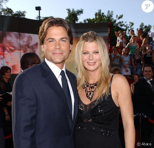 Rob Lowe et sa femme Sheryl