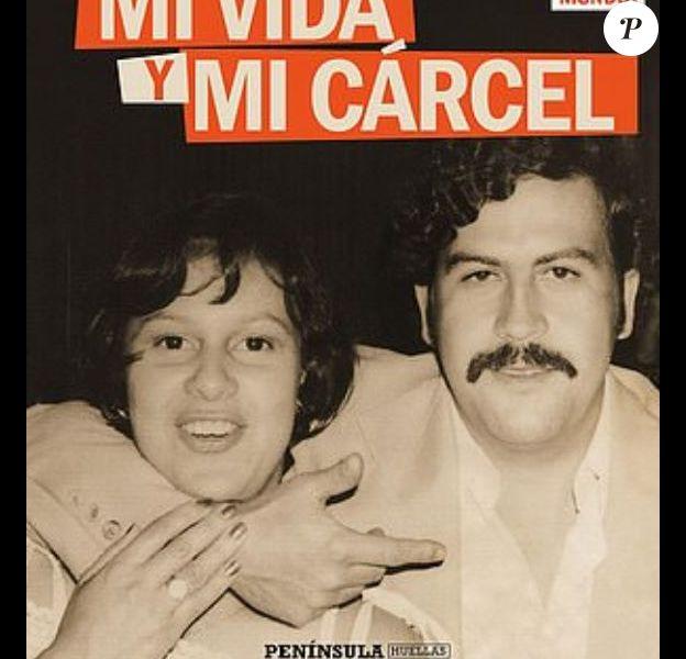 """Couverture du livre """"Pablo Escobar : Ma vie et ma prison"""" publié le 15 novembre 2018."""