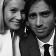 Gwyneth Paltrow et Brad Falchuk. Septembre 2015.