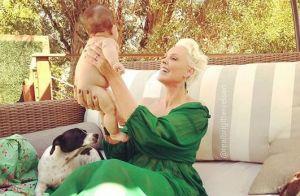 Brigitte Nielsen, 55 ans : Nouvelle tendre photo de sa petite Frida, 4 mois