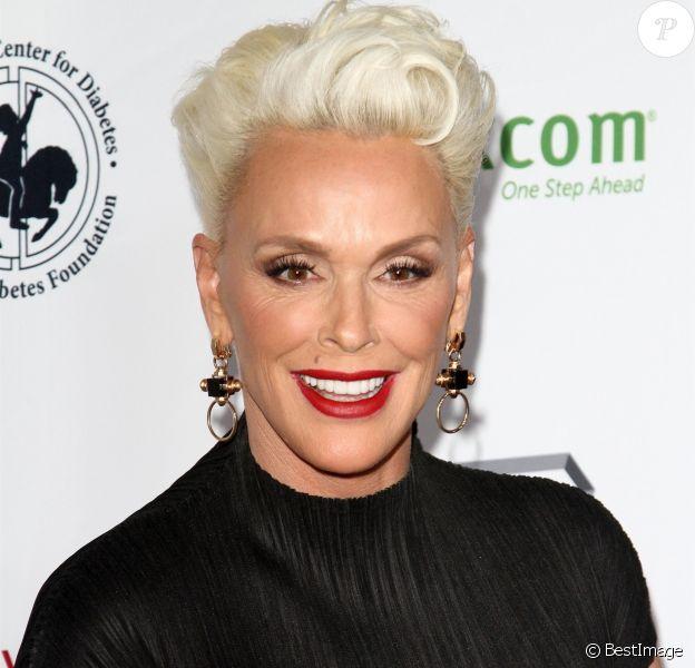 """Brigitte Nielsen - Les célébrités arrivent à la soirée """"Carousel of Hope Ball"""" à l'hôtel Hilton à Beverly Hills le 6 octobre 2018."""