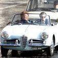 Le tournage de Nine de Rob Marshall avec Sophia Loren et Daniel Day-Lewis