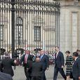 Le roi Felipe VI et la reine Letizia d'Espagne à l'Hôtel de Ville de Lima au Pérou le 12 novembre 2018.
