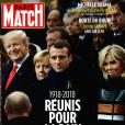 """Couverture du magazine """"Paris Match"""" en kiosque le 15 novembre 2018"""