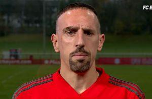 Franck Ribéry : Après les gifles, le mea culpa en vidéo