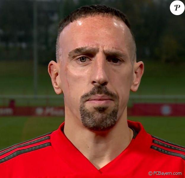 Franck Ribéry présente ses excuses après s'en être pris à Patrick Guillou le 15 novembre 2018.