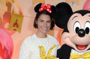 Elodie Gossuin et Natalia Vodianova fêtent Mickey avec leurs amoureux