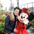 Exclusif - Frédéric Chau - Célébration des 90 ans de magie avec Mickey à Disneyand Paris le 17 novembre 2018. La nouvelle saison de Noël célèbrera 90 ans de fun avec Mickey du 10 novembre 2018 au 6 janvier 2019. © Veeren/Bestimage  Exclusive - For Germany call for price - Celebrating 90 years of magic with Mickey at Disneyland Paris on November 17, 2018. (No Web - No Blog pour suisse et Belgique)17/11/2018 - Chessy