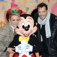 Exclusif - Elodie Gossuin et son mari Bertrand Lacherie - Célébration des 90 ans de magie avec Mickey à Disneyand Paris le 17 novembre 2018. La nouvelle saison de Noël célèbrera 90 ans de fun avec Mickey du 10 novembre 2018 au 6 janvier 2019. © Veeren/Bestimage  Exclusive - For Germany call for price - Celebrating 90 years of magic with Mickey at Disneyland Paris on November 17, 2018. (No Web - No Blog pour suisse et Belgique)17/11/2018 - Chessy