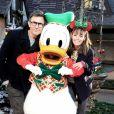 Exclusif - Bérénice Bejo et son mari Michel Hazanavicius - Célébration des 90 ans de Mickey à Disneyand Paris le 17 novembre 2018. La nouvelle saison de Noël célèbrera 90 ans de magie avec Mickey du 10 novembre 2018 au 6 janvier 2019. © Veeren/Bestimage