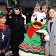 Exclusif - Chantal Thomass et ses petites filles - Célébration des 90 ans de Mickey à Disneyand Paris le 17 novembre 2018. La nouvelle saison de Noël célèbrera 90 ans de magie avec Mickey du 10 novembre 2018 au 6 janvier 2019. © Veeren/Bestimage