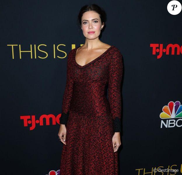Mandy Moore à la première de la saison 3 de la série This Is Us à Hollywood, le 25 septembre 2018