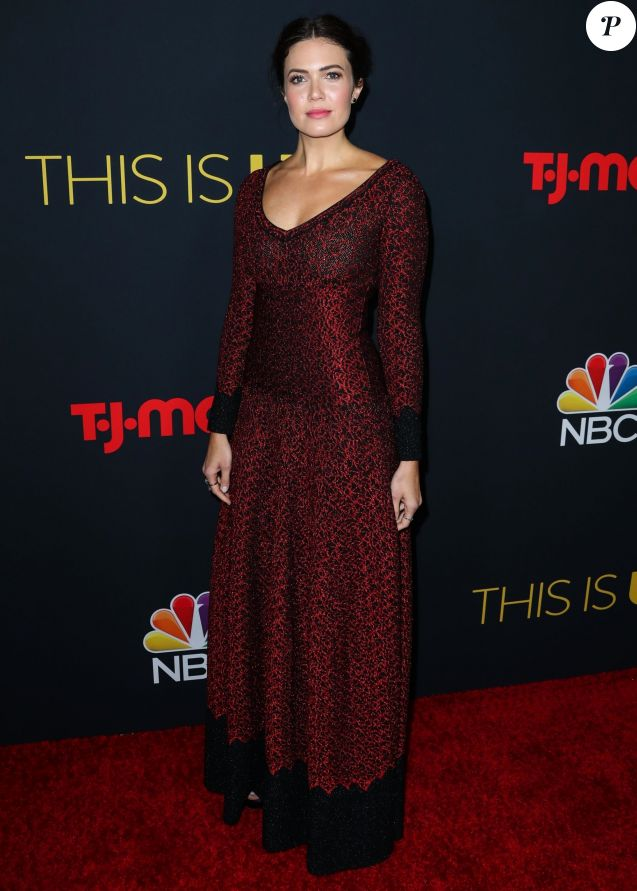 Mandy Moore à la première de la saison 3 de la série This Is Us à Hollywood, le 25 septembre 2018