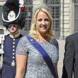 Princesse Theodora de Grece, Prince Philippos de Grece - Mariage de la princesse Madeleine de Suede avec Chris O'Neill au Palais Royal a Stockholm en Suede le 8 juin 2013.