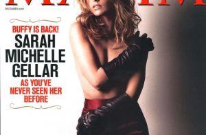 Sarah Michelle Gellar : Ses photos sexy indignent les internautes