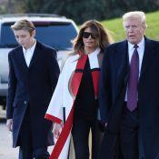Donald Trump s'envole pour la Floride avec Melania et Barron pour Thanksgiving