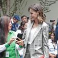 Le roi Felipe VI d'Espagne et la reine Letizia à la présentation de l'événement Fundades à Lima, Pérou le 13 novembre 2018.