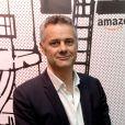 """Exclusif - Frédéric Duval (directeur général de Amazon France) à l'inauguration de """"la Maison de Noël Amazon"""" à la Crèmerie de Paris, à Paris, France, le 22 novembre 2018. © Veeren/Bestimage"""