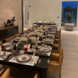 Kylie Jenner a fêté Thanksgiving en famille avec sa fille Stormi, son chéri Travis Scott et tous les membres de la famille Kardashian le 22 novembre 2018