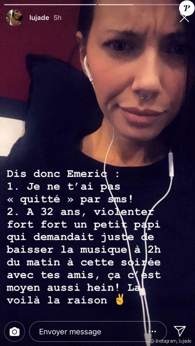 """Lucie de """"L'amour est dans le pré"""" - story Instagram, 26 novembre 2018"""