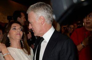 Didier Deschamps et son pilier, sa femme Claude :