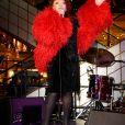 La chanteuse Régine - Soirée d'inauguration de l'exposition PARIS! au Bon Marché à Paris le 7 septembre 2016.