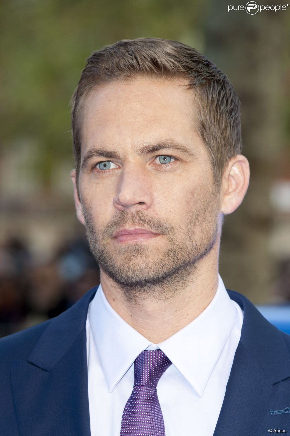 Paul Walker à Londres le 7 mai 2013.